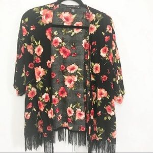 French Laundry Floral Kimono Cover Up
